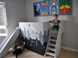 Cool Bedroom Ideas For Boys Cool Kids Rooms Put The Beds On Rollers Easier To Change The