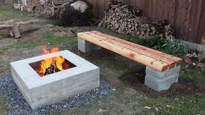 Outdoor Cinder Block Fireplace Plans - cinder block fire pit plans fire pit ideas
