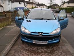 used peugeot 206 and second hand peugeot 206 in middlesex