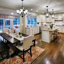 Kitchen Open To Dining Room Dining Room Kitchen And Dining Rooms Design Ideas Room Photos