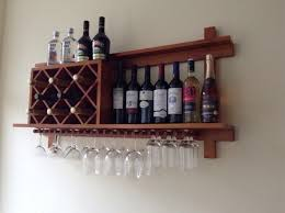 Walnut Wine Cabinet Walnut Finish Wine Cabinet With Drawer Glass Holder 1 Wine Rack
