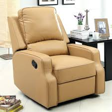 recliner leather reclining sofa interior small space saving