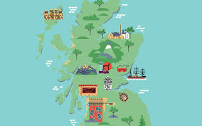 Map Scotland Explore The History Of Scotland With This Interactive Map