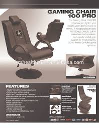 Music Chair Game Deluxe Pro Multi Function Music Gaming Chair Vibration Massage