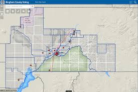 La County Assessor Map Bingham County