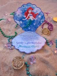 mermaid party invitations kawaiitheo