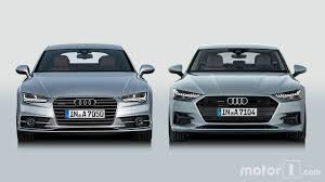 audi a7 vs a6 see the 2018 audi a7 side by side with the model