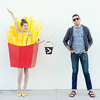 French Fry Halloween Costume Diy Donut Costume Halloween