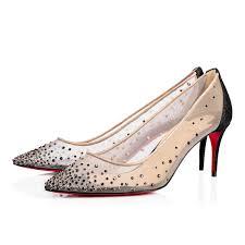 follies strass 70 version black glitter women shoes christian