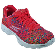 skechers go walk 3 printed lace up sneakers digitize page 1