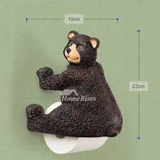 Toilet Paper Funny Funny Cute Wall Mounted Bear Toilet Paper Holder