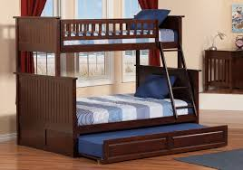 Bunk Beds With Trundle Bedroom Stylish And Perfecto Twin Over Full Bunk Bed With Trundle