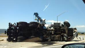 Sigalert San Diego Map by Overturned Cement Truck On 15 Freeway In Murrieta Backs Up Traffic