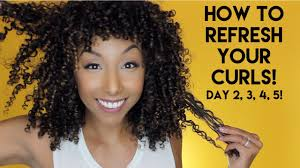 hairstyles for day old curls how to refresh your curls day 2 3 4 5 curls biancareneetoday