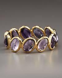 paolo costagli sapphire ombre ring purple in purple lyst