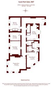 3 bedroom hyde park gate london sw7 property to rent marsh