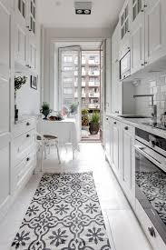 how to accessorize a grey and white kitchen 9 space enhancing ideas for your galley kitchen remodel