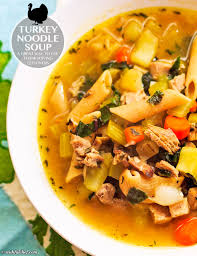 turkey noodle soup using thanksgiving leftovers wishful chef