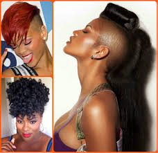 jazzy mohawk hairstyles for black women hairstyles 2017 hair