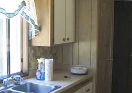 how to update mobile home kitchen cabinets mobile home remodeling 9 totally amazing before and afters