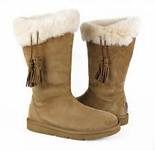 womens ugg plumdale boots ugg w plumdale boots chestnut size 8m ebay