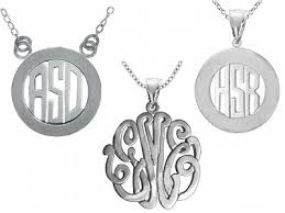 monogram pendants thrifty holidays giveaway party 7 two will win a sterling silver
