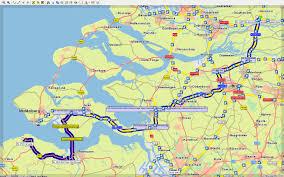 Utd Map Mautspuren Am Westerscheldetunnel Routenplanung Und