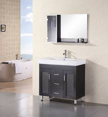 design element bathroom vanities milan 36 single sink vanity set in espresso design element