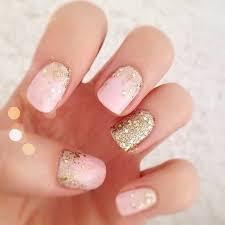 easy nail art glitter 70 stunning glitter nail designs 2017