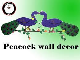 Peacock Decor For Home by Diy Wall Decor Ideas Youtube