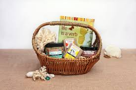 organic spa gift baskets a lucky ladybug eco chic gift baskets review and giveaway