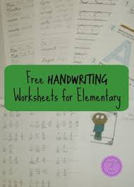 home program forms handwriting programming and occupational therapy