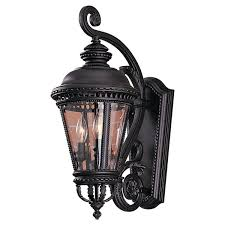 Outdoor Light Fixtures Wall Mounted by Feiss Castle Black Outdoor Lantern Outdoor Walls Wall Mount And