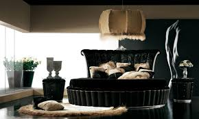 black elegant bedroom furniture video and photos