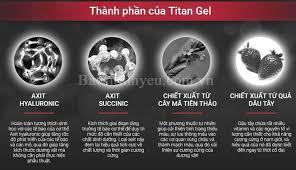 gel titan chính hãng mua ở đâu giá bán bao nhiêu