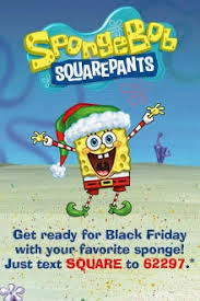 nickalive spongebob squarepants to guest in macy s black