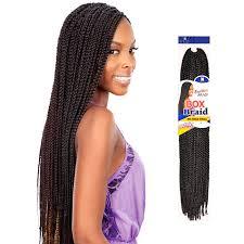 crochet hair small box braids freetress synthetic hair crochet braid