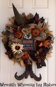 Halloween Mesh Wreaths by Halloween Wreath Home Design Ideas