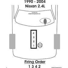 solved 1990 nissan pickup firing order diagram spark plug fixya