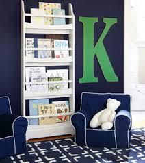 Kids Bookshelves by Navy U0026 Kelly Green Nursery Pottery Barn Kids The Nursery