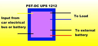 12v 3a dc ups controller for cars and automobiles uninterruptible