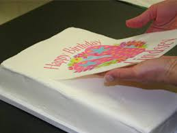 edible sheets edible pictures make plain cakes more visually attractive ink