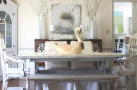 Dining Benches Bench Laudable Antique White Dining Room Bench Likable White
