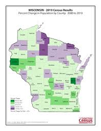 Wisconsin Counties Map by Census 2010 News U S Census Bureau Delivers Wisconsin U0027s 2010