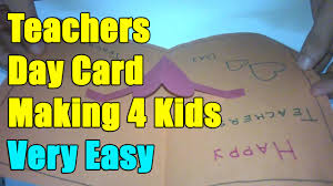 teachers day card pop up card ideas teacher day 5th