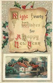 new year postcard greetings 354 best new years vintage cards images on vintage