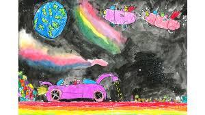 lexus galway ireland dream car art contest finalists toyota ireland toyota long mile