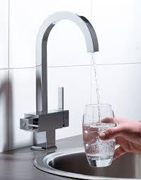 three way kitchen faucet gooseneck sink mixer ro water filter taps