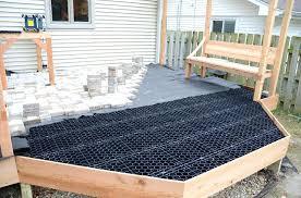 wood deck pavers system stone deck landscapes ipe wood deck tiles