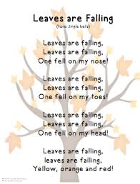 song leaves are falling tune jingle bells fall